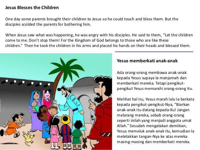 Tuhan Yesus Memberkati Anak Anak