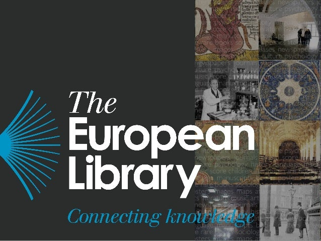 Future Directions for The European Library www.theeuropeanlibrary.org Alastair Dunning, Programme Manager @alastairdunning