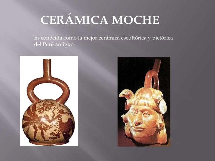 Cer mica moche - Ceramicas sanchez ...