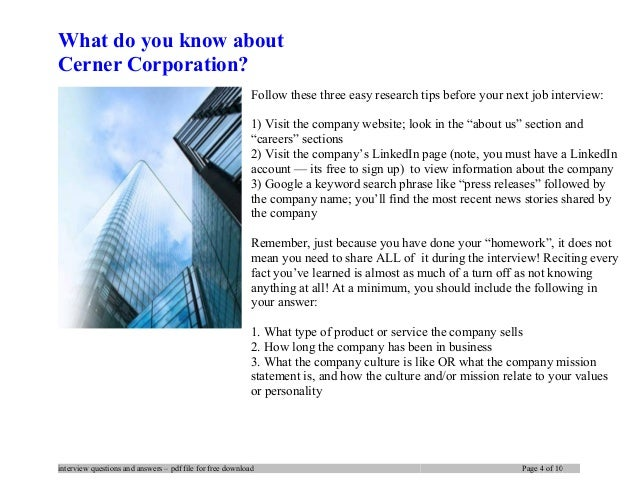 cerner software engineer interview questions Is Cerner