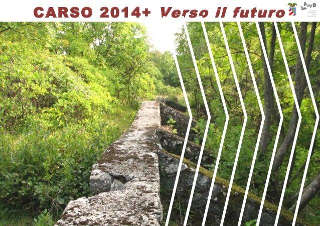 LAND Milano srl ©2016 CARSO 2014+ Verso il futuro