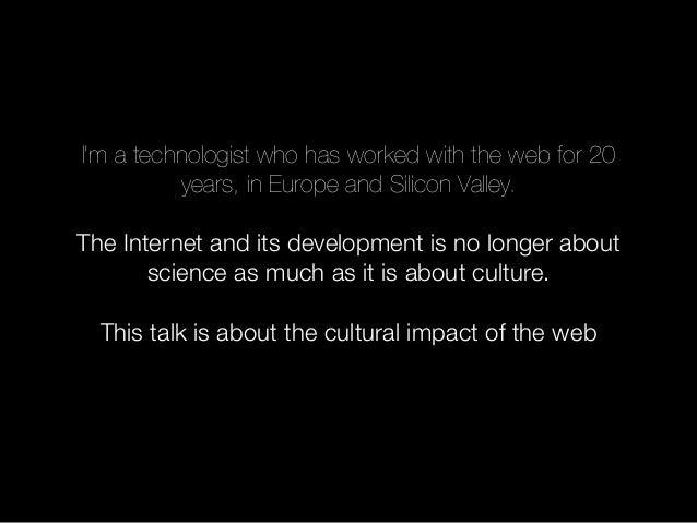 Cern talk. David Galbraith: Beyond WWW Slide 2