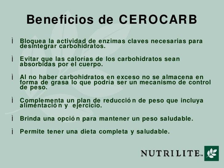 Cerocarb De Nutrilite