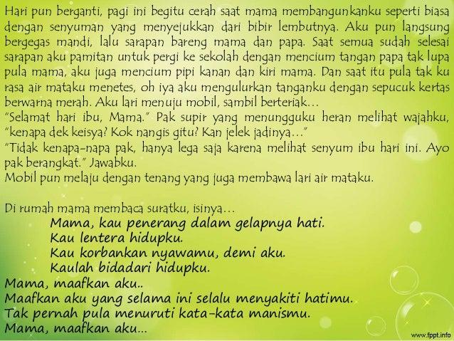 Kata Kata Untuk Mama Papa Kumpulan Kata Kata