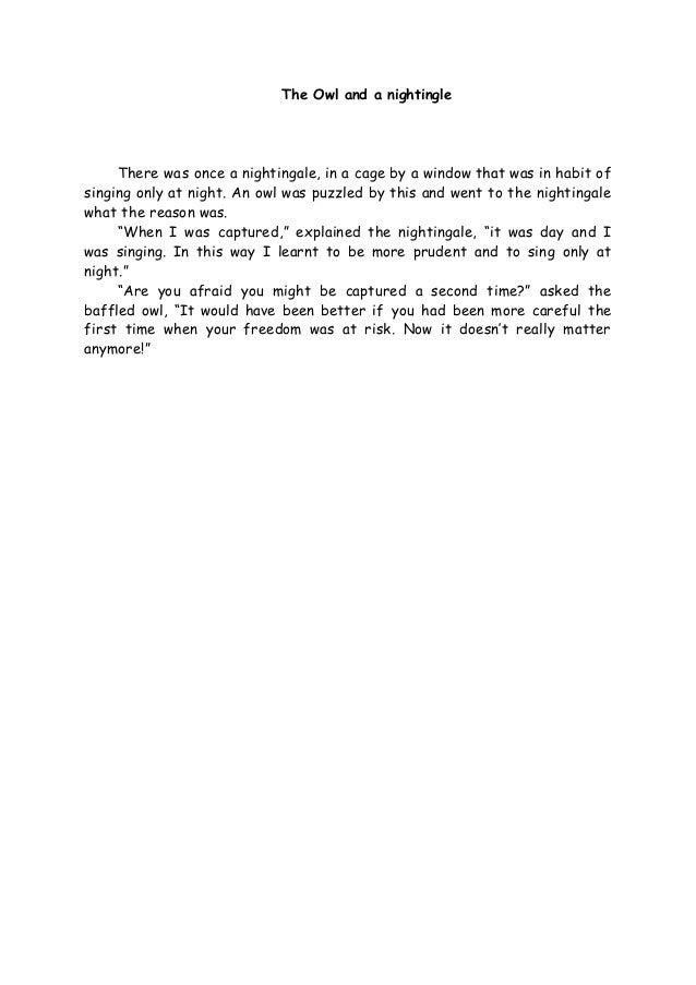 Cerpen Bahasa Inggris