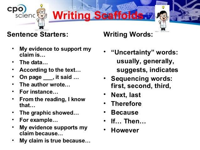 99 Starter Sentences