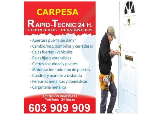 Cerrajeros Carpesa 603 932 932