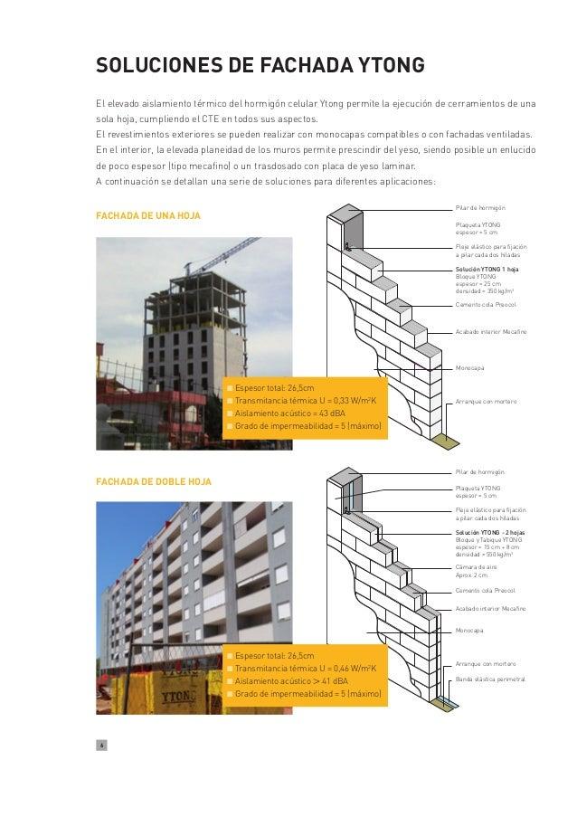 Cerramientos y fachadas ytong - Cerramientos de fachadas ...
