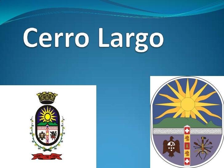 Cerro Largo<br />
