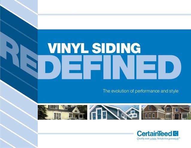 certain teed vinyl siding brochure