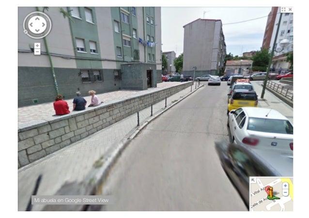 Mi abuela en Google Street View!