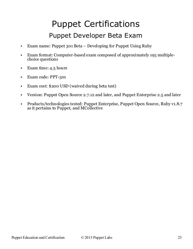 Certifiable Puppet Professional Puppets New Education Certification