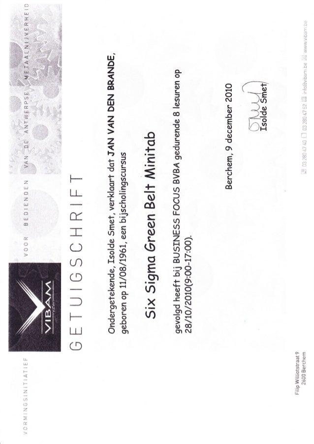 Neil Huffman Honda >> Certificate 6 Sigma Minitab