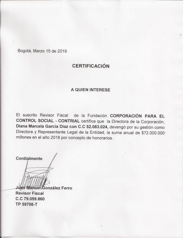 Contrial Certificacion