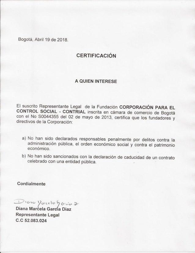 Certificacion art 364   3#3