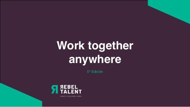 Work together anywhere 5ª Edición