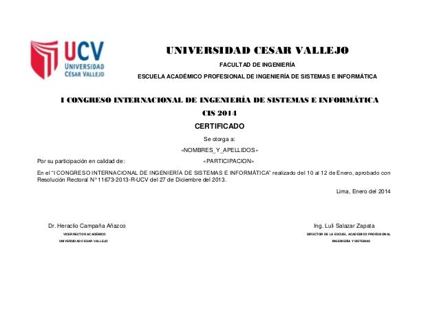 UNIVERSIDAD CESAR VALLEJO FACULTAD DE INGENIERÍA ESCUELA ACADÉMICO PROFESIONAL DE INGENIERÍA DE SISTEMAS E INFORMÁTICA I C...
