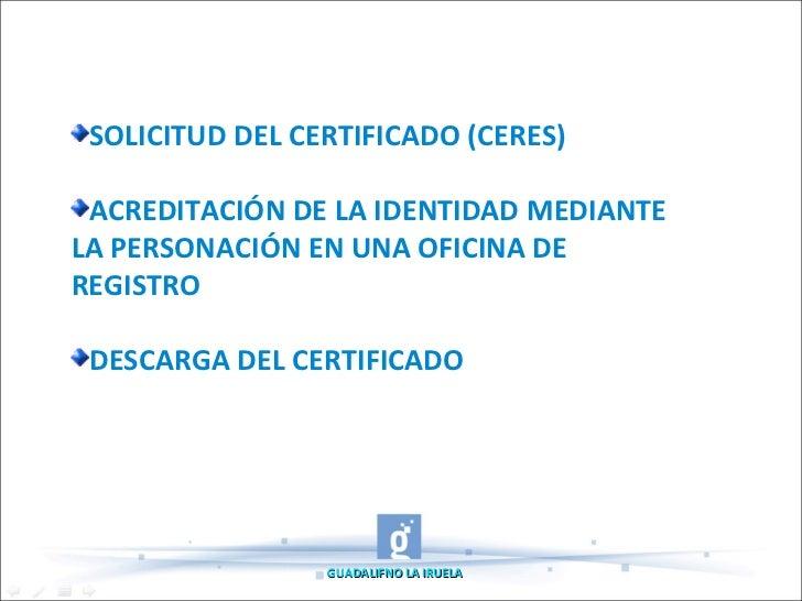 Tutorial sobre certificado digital - Oficinas certificado digital ...