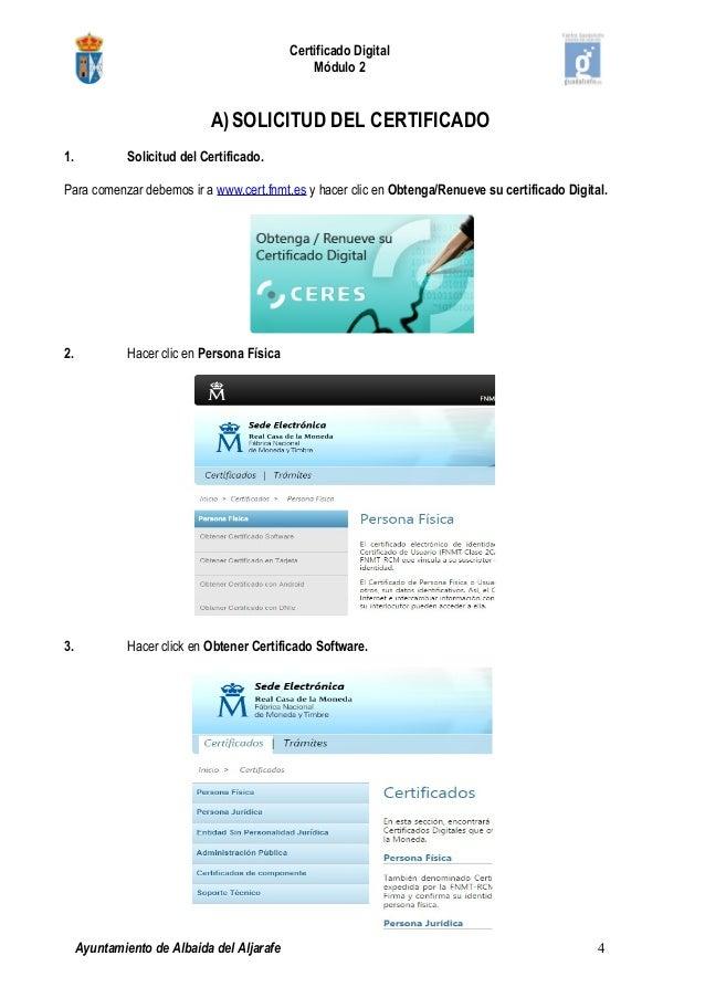 2 pasos para obtener el certificado digital for Oficinas certificado digital