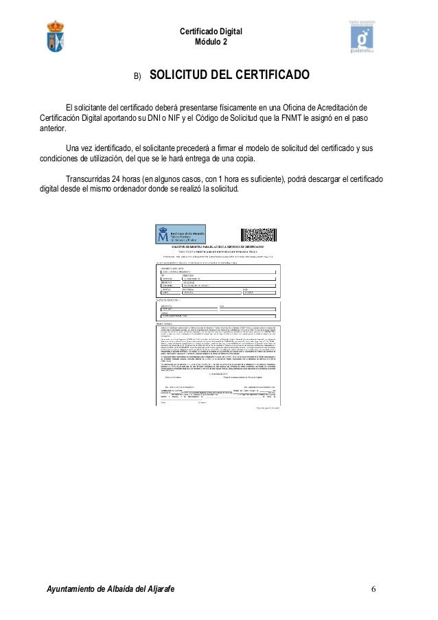 2 pasos para obtener el certificado digital for Oficina certificado digital