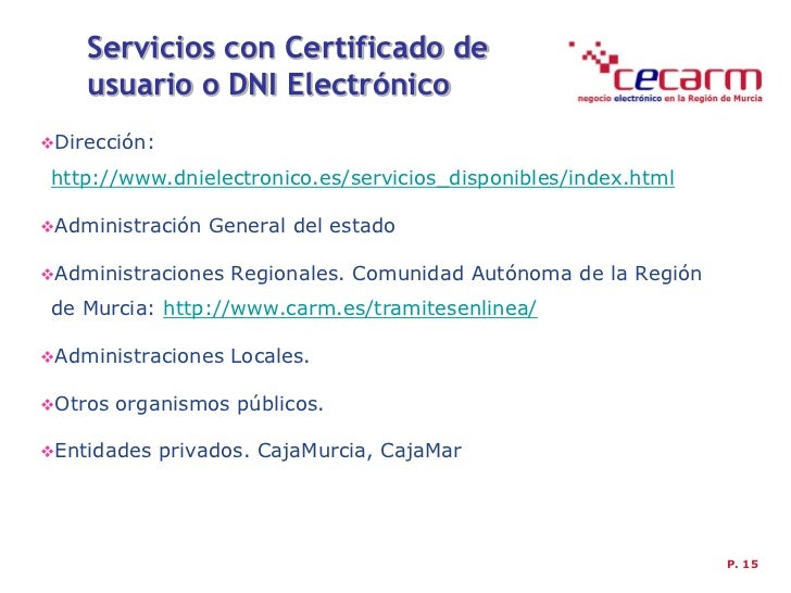 Taller cecarm certificado digital y factura electr nica for Dgt oficina virtual