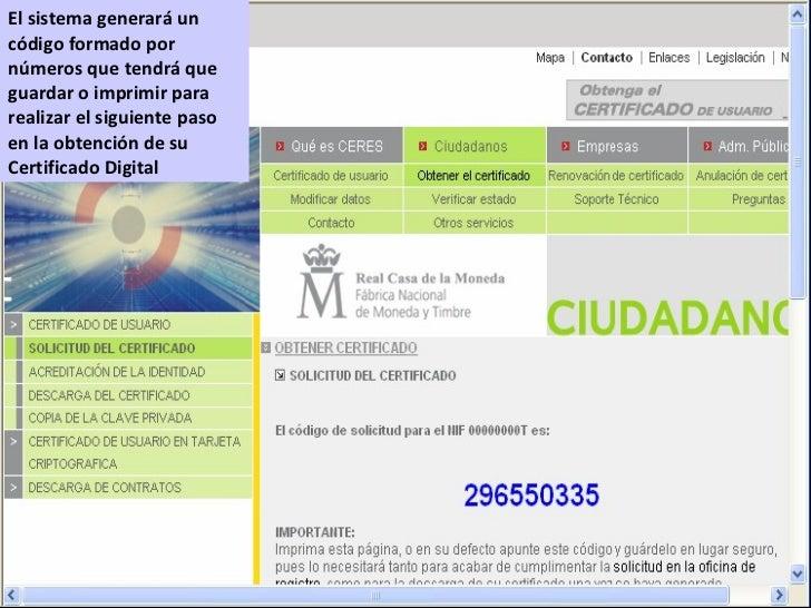 Presentacion taller certificado digital guadalinfo for Oficina certificado digital