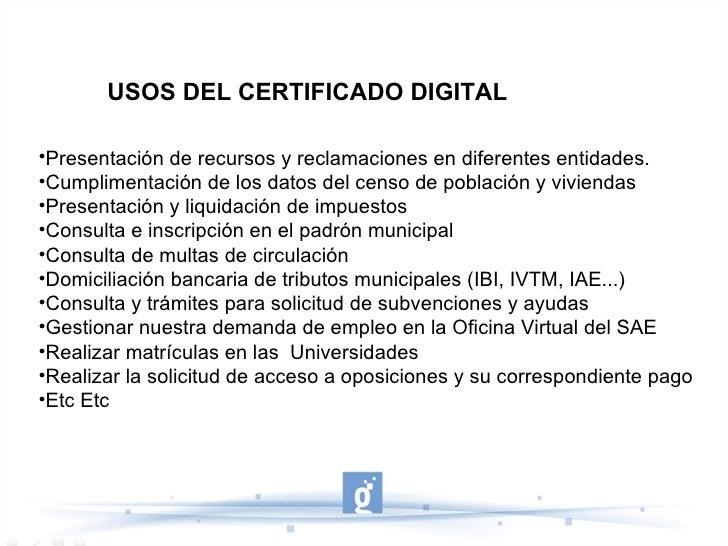 Certificado digital guadalinfo pasos para la obtenci n exportaci n - Sae oficina virtual renovar demanda ...