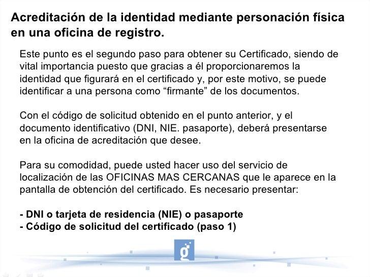 Certificado digital guadalinfo pasos para la obtenci n - Oficinas certificado digital ...
