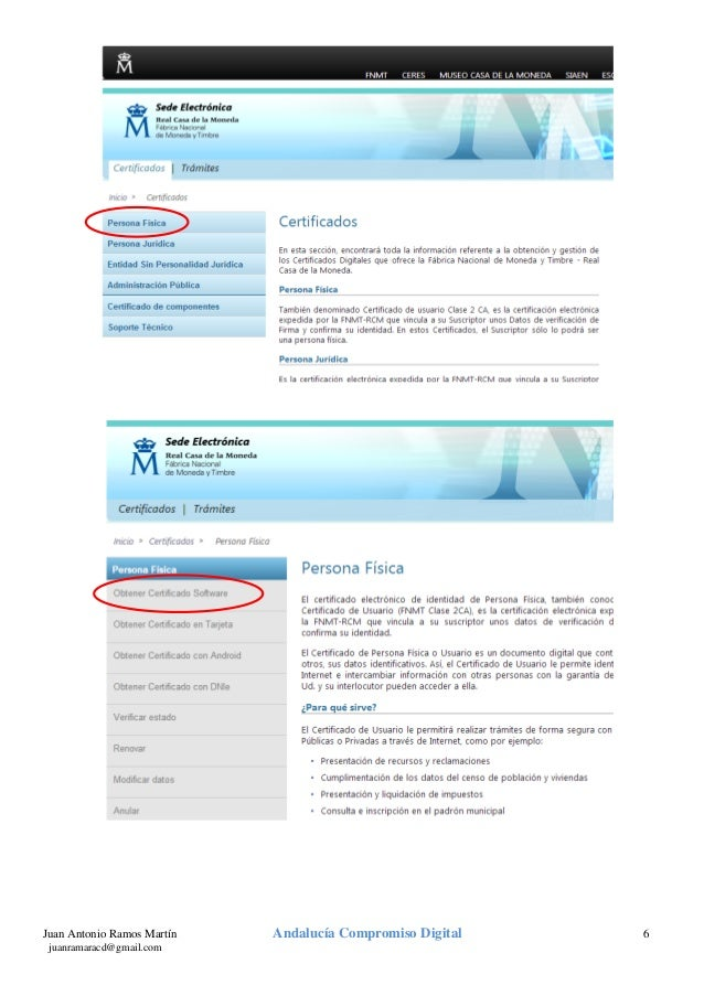 Certificado digital v2 0 for Sellar paro por internet andalucia certificado digital