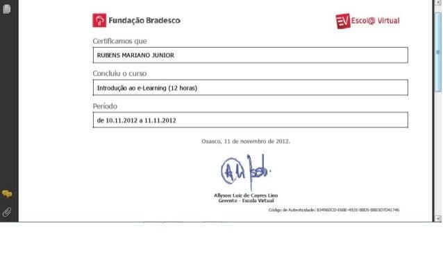 Certificado   E Learning