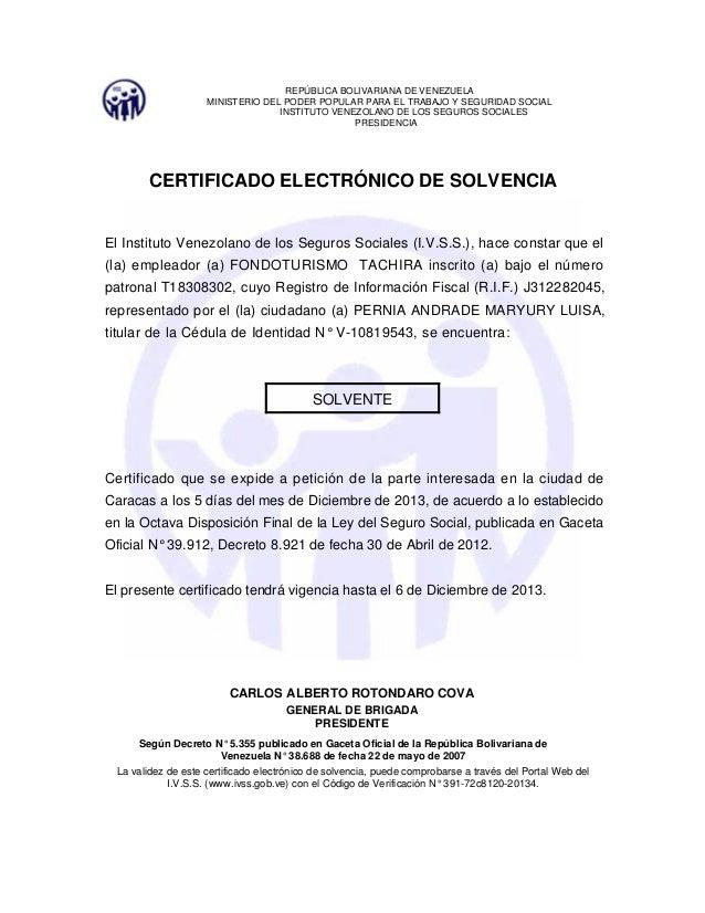 Certificado electr nicodesolvencia for Certificado ministerio del interior