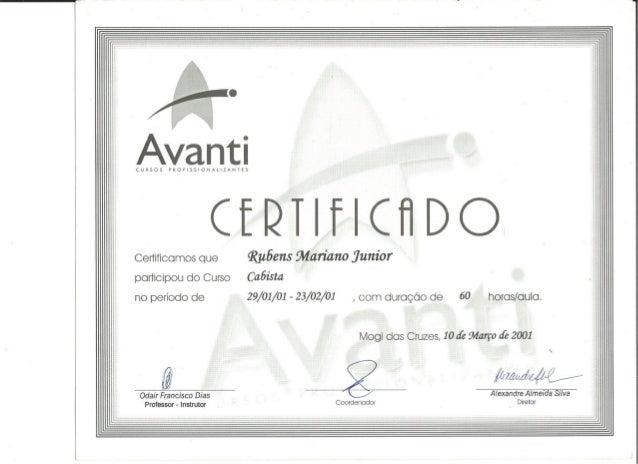 Certificados Telecomunicações