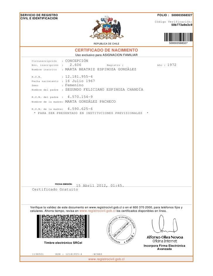 Certificado tia shell