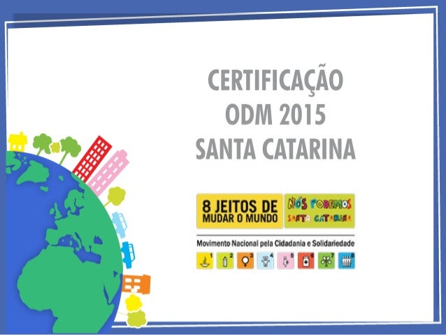 É uma iniciativa do Movimento Nós Podemos Santa Catarina (MNPSC) para incentivar e valorizar as ações relacionadas ao alca...