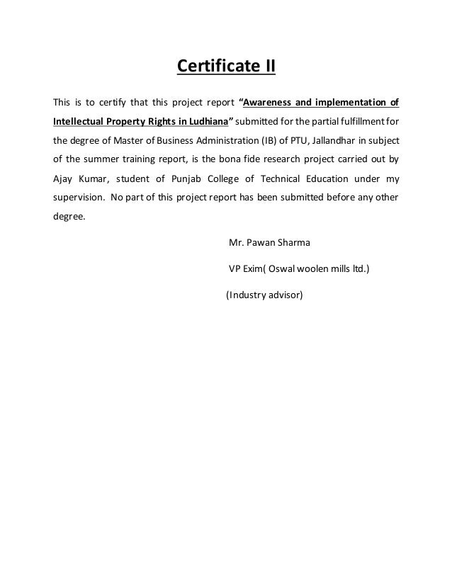 sample acknowledgement page for thesis