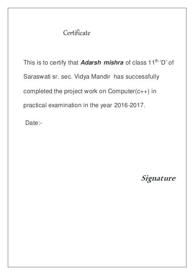 certificate class slideshare upcoming sec certify