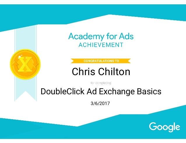 DoubleClick - Ad Exchange Basics