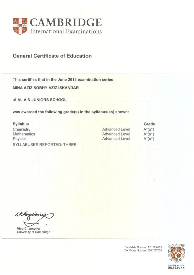 International General Certificate of Secondary Education