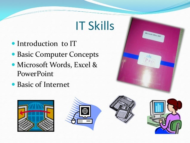 Certificate course in english fluency & i.t. skills