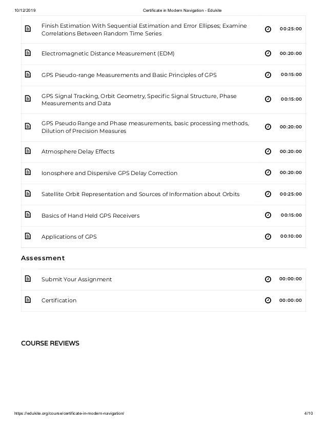 10/12/2019 Certificate in Modern Navigation - Edukite https://edukite.org/course/certificate-in-modern-navigation/ 4/10  ...