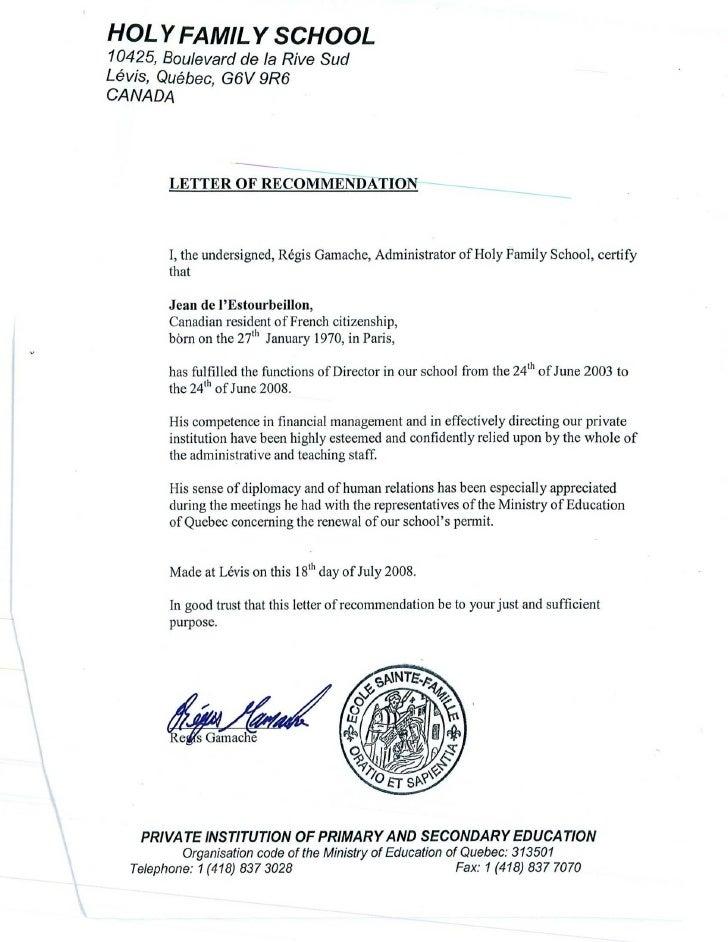 sle recommendation letter for pastor ordination certificate of fr d