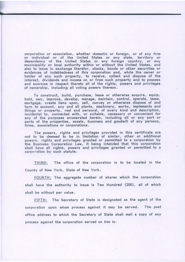 Free Professional Resume New York State Certificate Of Authority