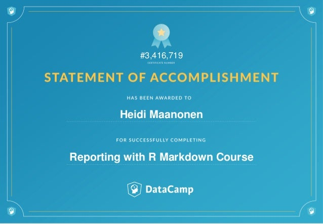 #3,416,719 Heidi Maanonen Reporting with R Markdown Course