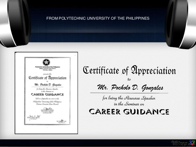 Certificates of pocholo gonzales from national youth commission 24 yadclub Gallery