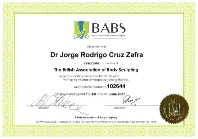 This is to certify that has successfully completed the Harley Academy Foundation Day for the use of Botulinum Toxin Type A...