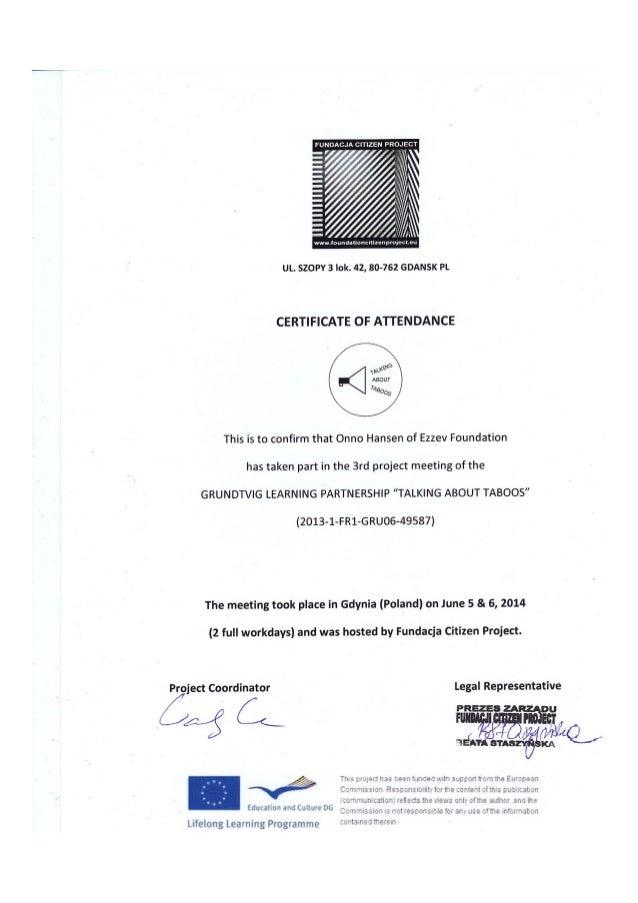 FU NDACJA CITIZEN PROJ ECT   /   I  A L  wwwjoundationcixizenprojecmu                            UL.  SZOPV 3 Iok.  42, 80...