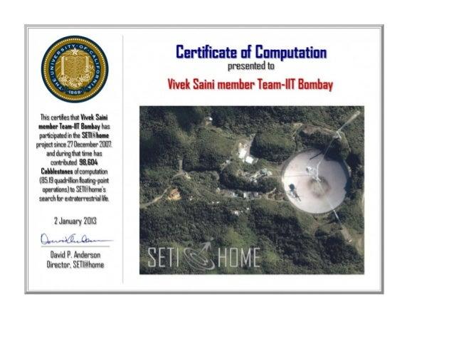 Certificate Of Computation Uc Berkeley