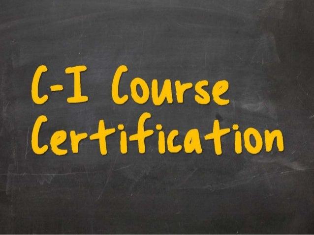 Certification Mode Criteria