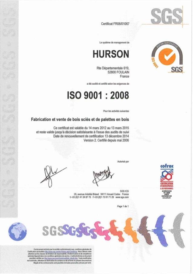 PEFC/10-31-862 Monsieur, Je vous informe que l 'Association Française de Certification Forestière, notifiée pour la France...