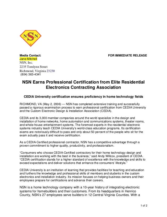 Certification Awarded Template